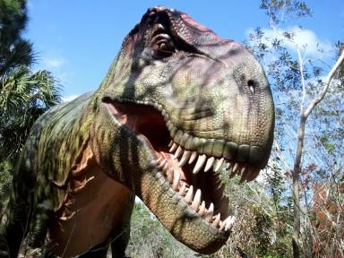 Brevard Zoo dinosaurs